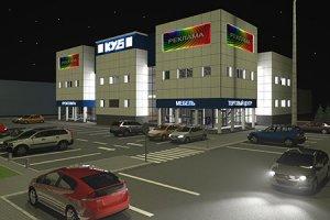 Эскизный проект торгового центра