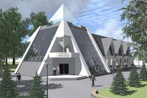 """Кафе """"Пирамида"""". Эскизный проект"""