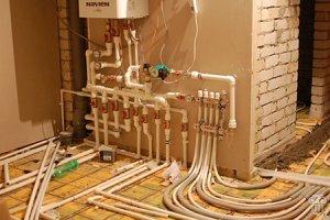Система отопления индивидуального жилого дома