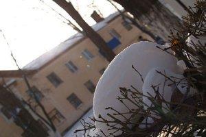 Зима 2010 в городе Белая Калитва