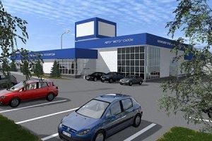 Проект автосалона в Белой Калитве