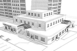 Проект реконструкции магазина