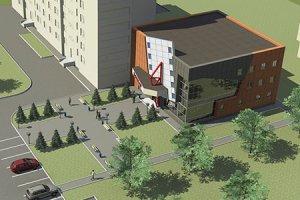 Реконструкция недостроенного здания под 3D кинотеатр
