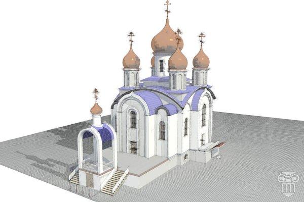 Эскизы звонницы для храма