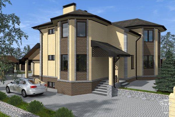Проект жилого дома для большой семьи